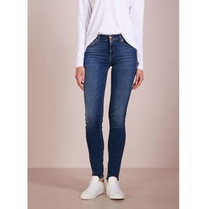 7 FOR ALL MANKIND Roxanne Mid Rise Jeans s…